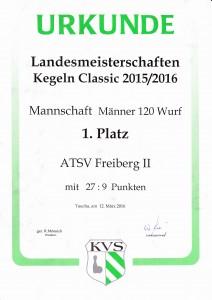 Urkunde LM 2016